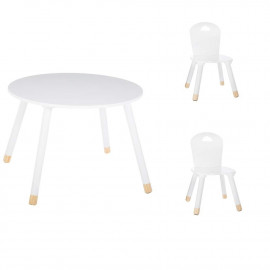 Set Table Douceur Blanc + 2...