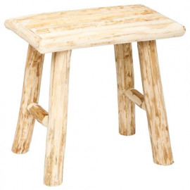 Tabouret en bois Style Pure...
