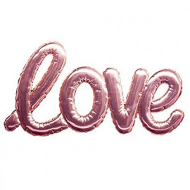 Sticker Ballon Love Rose...