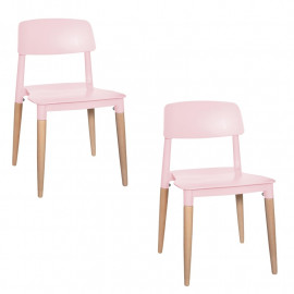 Lot de 2 chaises Design...
