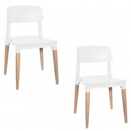 Lot de 2 chaises Design...
