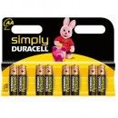 8 Piles AA MN1500 DURACELL...