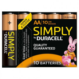 10 Piles AA MN1500 DURACELL...