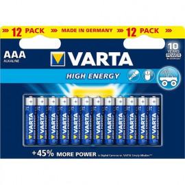 12 Piles AAA 4903 VARTA...