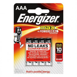 4 Piles AAA LR03 ENERGIZER Max