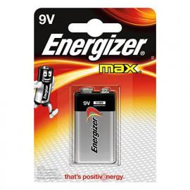 1 Pile 9V 6LR61 ENERGIZER Max