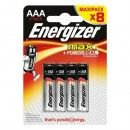 8 Piles AAA LR03 ENERGIZER Max