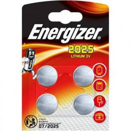 4 Piles CR2025 Lithium...