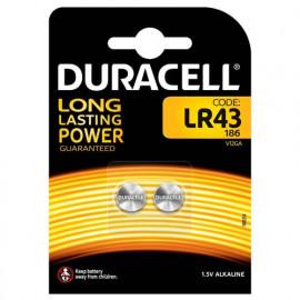 2 Piles boutons LR43 1,5 V...