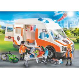 Ambulance Playmobil City...