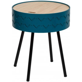 Table A Cafe Coffre Bleu...
