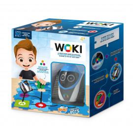 Jouet Robot Woky Bleu Buki