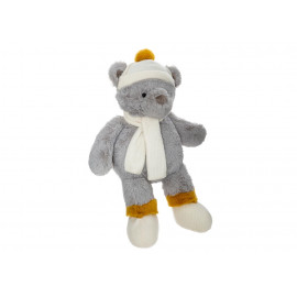 Peluche Ours Hiver H45 Gris...