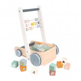 Chariot De Marche Cubes Abc...