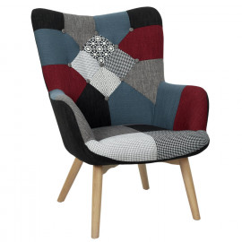 Fauteuil Milano Patchwork...