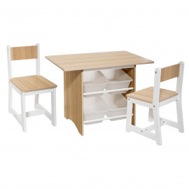 Table Enfant 4 Bacs Avec 2...