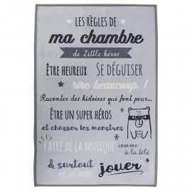 Tapis Réglés De La Chambre...