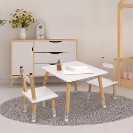 Table Enfant Et 2 Chaises...