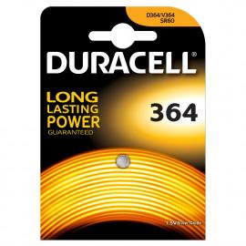 Pile bouton 364 Duracel 1,5 V