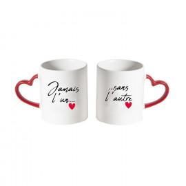 Coffret De 2 Tasses Amour...