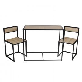 Table Et 2 Chaises Otis...