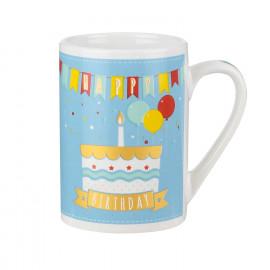 Mug Cadeau Birthday Bleu...