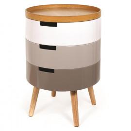 Table De Chevet Coffre 3...