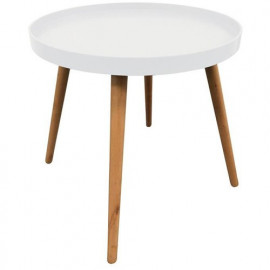 Table Plateau Ronde Blanche...