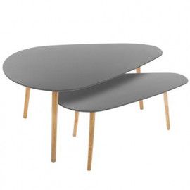 Lot De 2 Tables Basses...