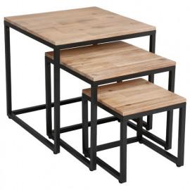 Lot de 3 Tables basses...