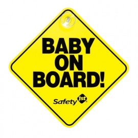Baby on board sign Safety 1st