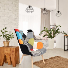 Fauteuil Patchwork Design...