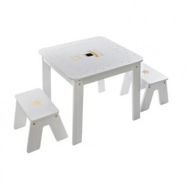 Table blanche pour fille...