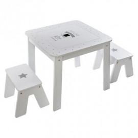 Table Blanche Pour Garçon...