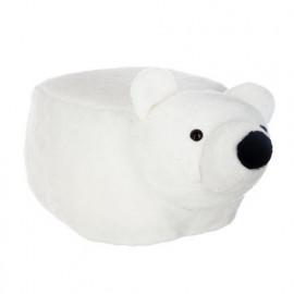 Pouf Enfant Ours Blanc...