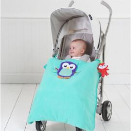 Couverture pour bébé Hibou...