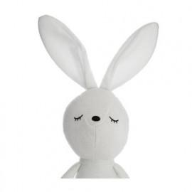 Peluche doudou lapin blanc...